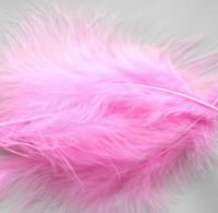 Candy Pink Large Marabou Feathers