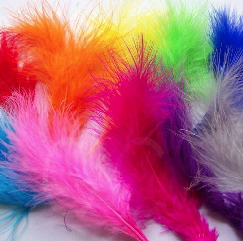 Assorted Large Marabou Feathers
