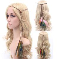 Peacock Feather Head Piece