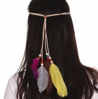 Feather Head Piece (Natural)