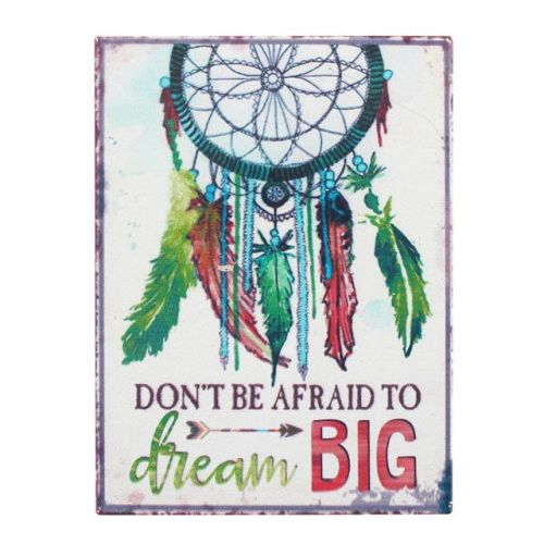 Dream Catcher Metal Magnet, Ethically Sourced