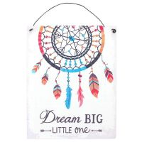 Dream Catcher Metal Sign, Ethically Sourced (15cms x 19cms)