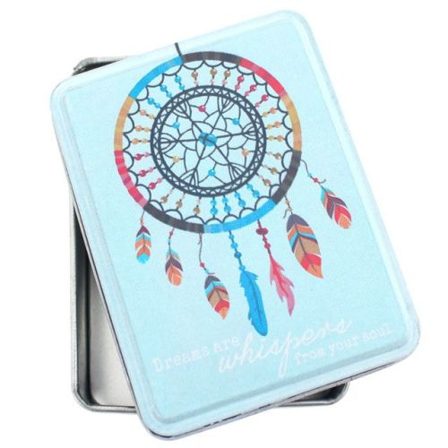 Dream Catcher Metal Trinket Box, Ethically Sourced