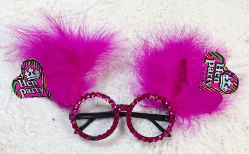 Hen Party Novelty Glasses