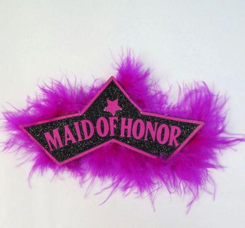 Maid of Honour Badge