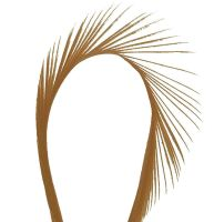Light Brown Goose Biot Feather
