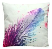 Cushion Cover with Tie Dye Feather Design (GC04)