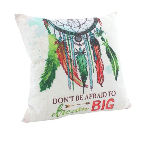 Dream Catcher Feather Cushion Cover, Ethically Sourced