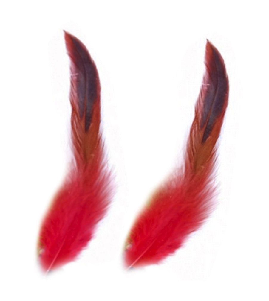 Red Rooster Schlappen Half Bronze Feathers
