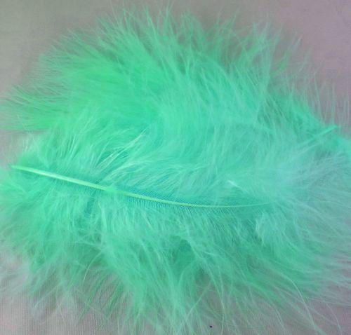 Lemon Marabou Feathers