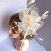 Ivory Wedding Fascinator