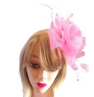 Light Pink Wedding Fascinator