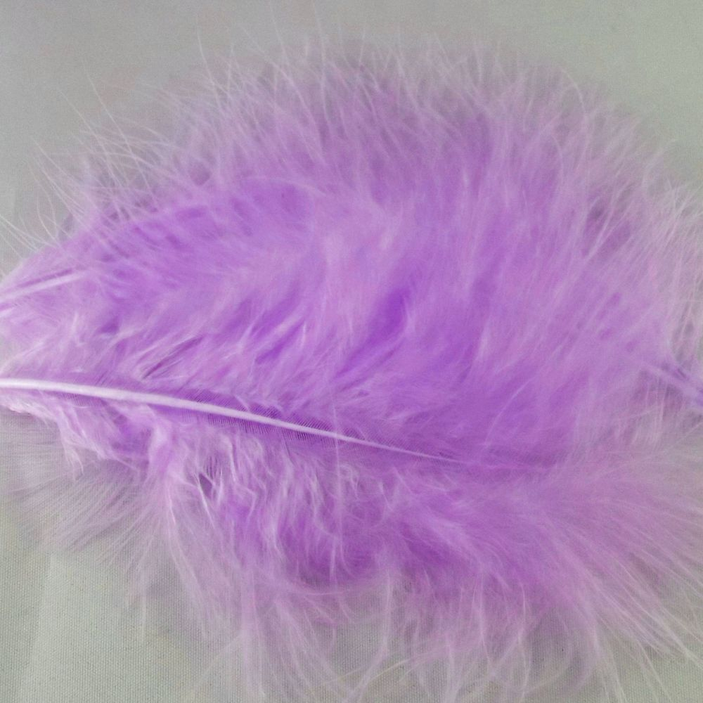 Lilac Marabou Feathers