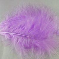 Lilac Marabou Feathers