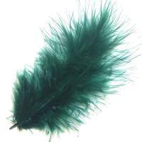 Hunter Green Medium Marabou Feathers