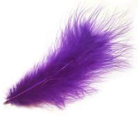 Purple Marabou Feathers