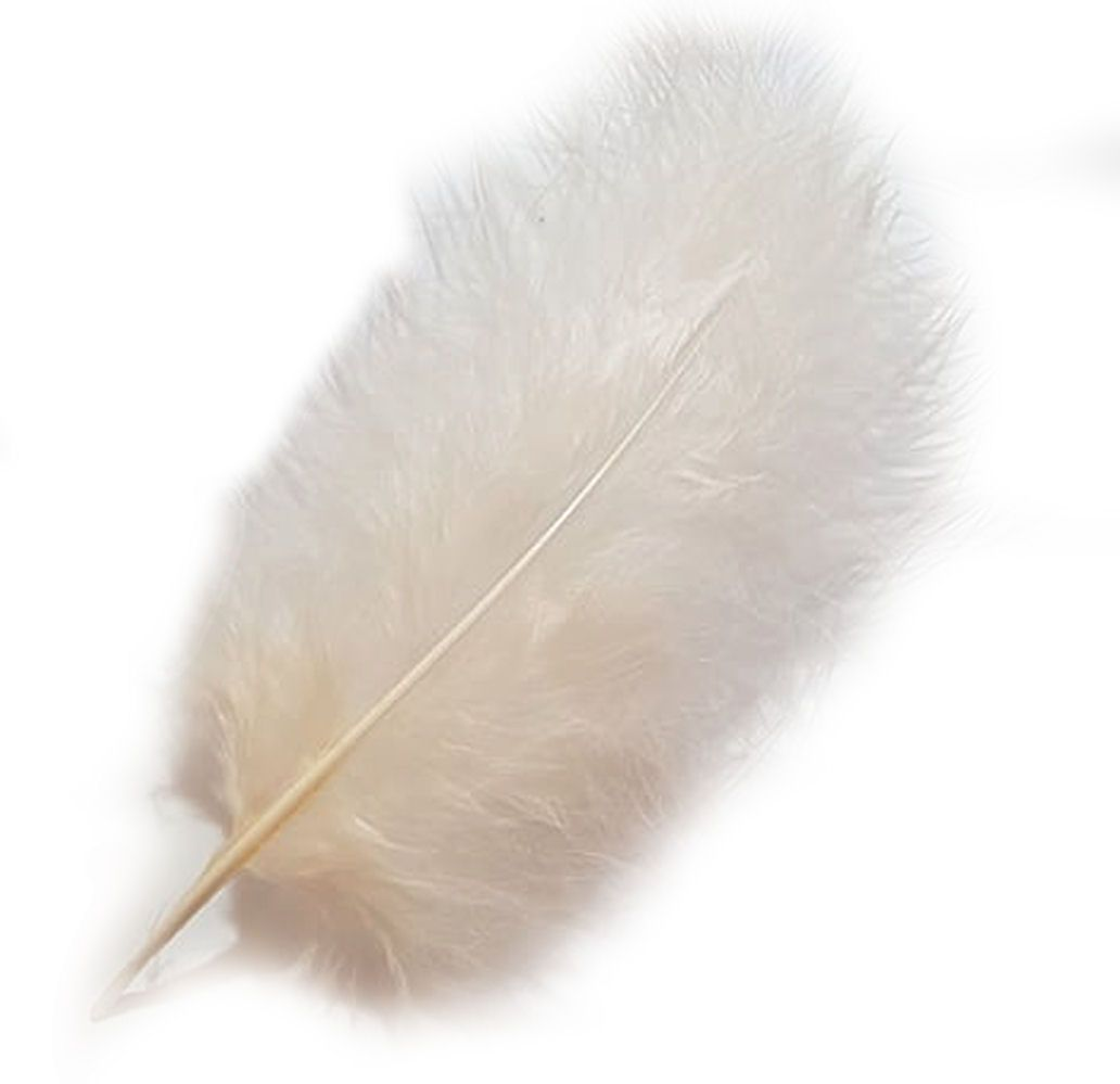 Pink Champagne Marabou Feathers
