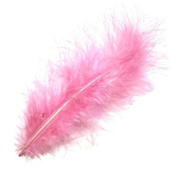 Ballet Pink Marabou Feathers