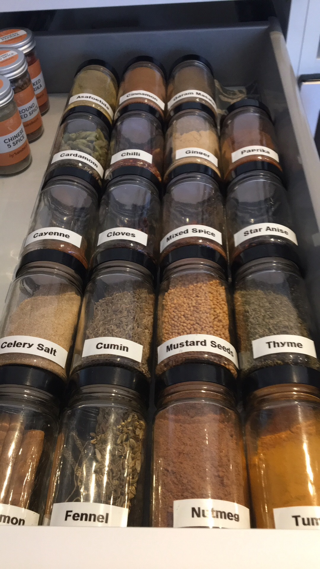 Spice drawer in Cobham