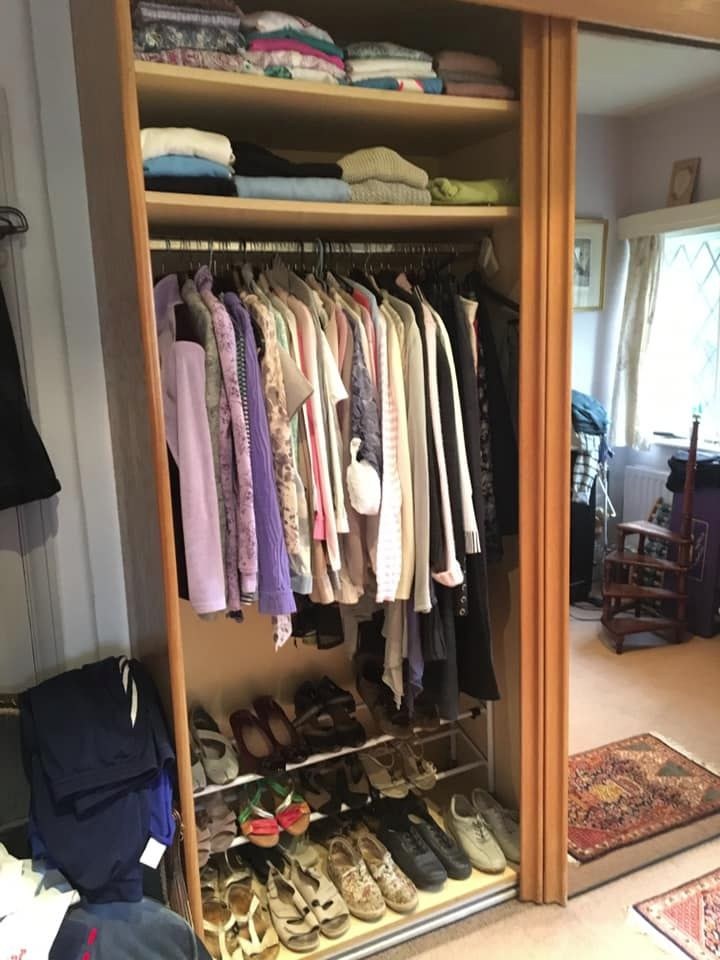 Wardrobe edit in Thames Ditton