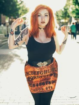 Spiritboard Pencil Skirt