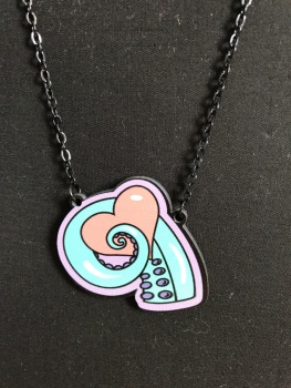 Octo Heart Necklace