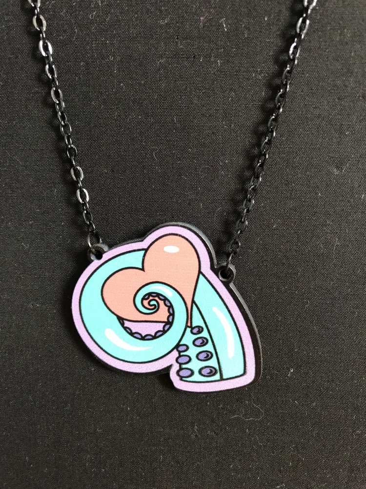 Octo Heart Necklace