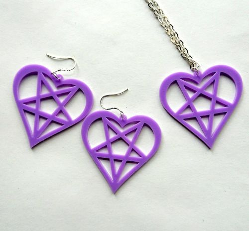 Heart Pentagram Necklace