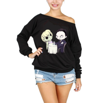 Brunch With Bundy Off The Shoulder Sweatshirt