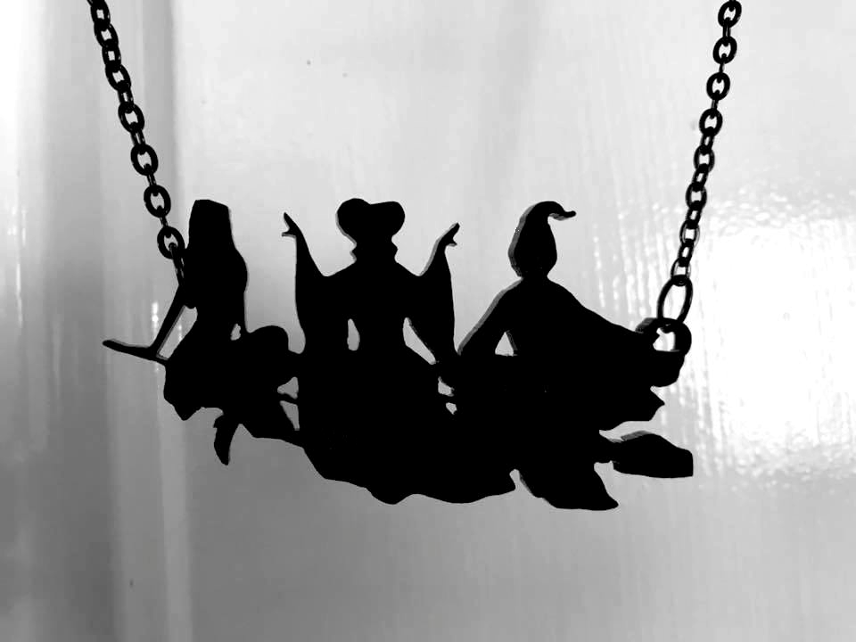 Sanderson Sisters Necklace