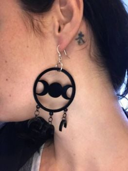 Moon Goddess Earrings