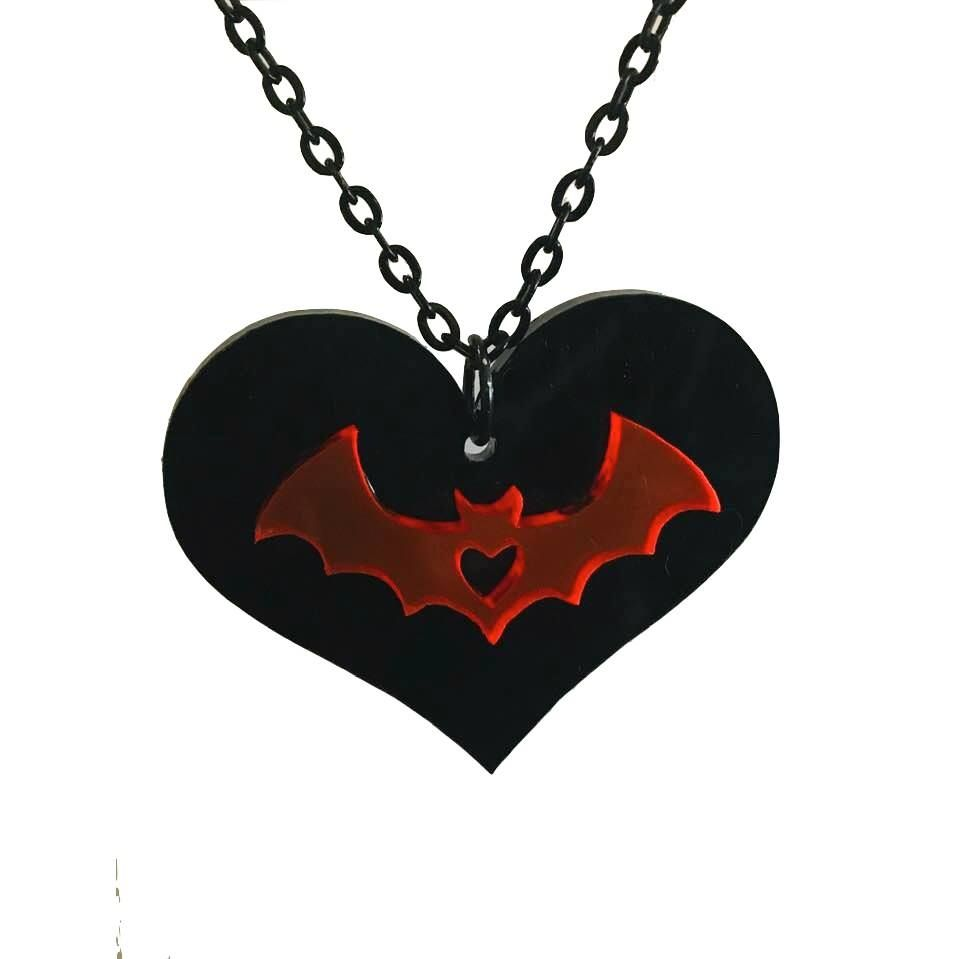 Vamp Heart Necklace