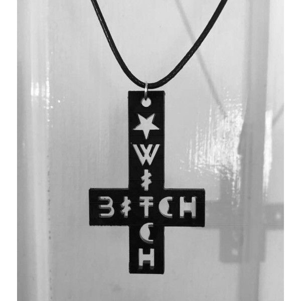Witch Bitch (single layer) Necklace