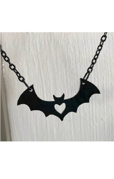 Bat Love Pendant