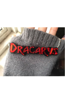 """DRACARYS"" Necklace - Game Of Thrones Inspired"