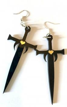 Lightbringer Earrings - Game Of Thrones Inspired