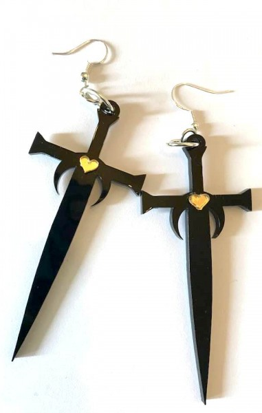 Lightbringer Earrings - Game Of Thrones Inspired