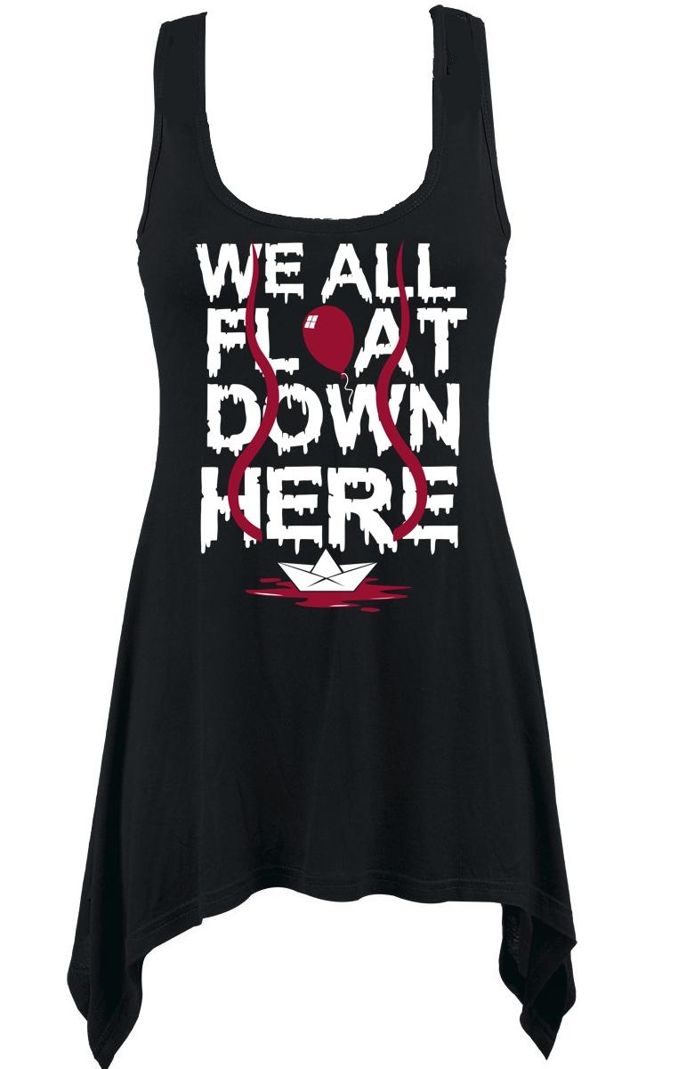 We All Float Vest Dress
