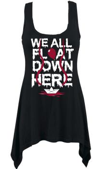 We All Float Vest Top