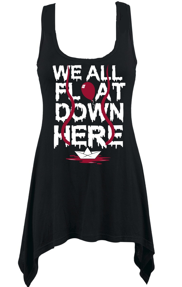 We All Float Vest Top
