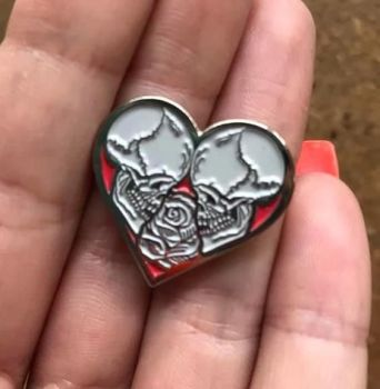 Til Death Enamel Pin