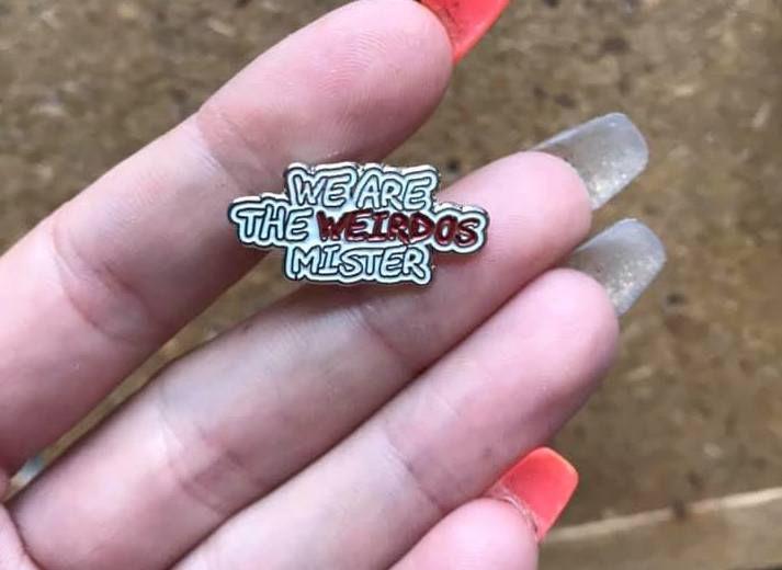 Weirdos Mister Pin Badge