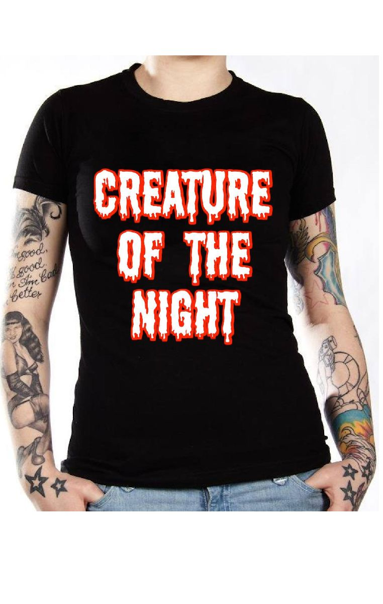 Creature Of The Night T Shirt