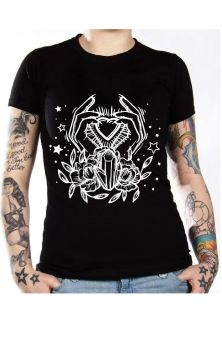 Crystal Heart T Shirt