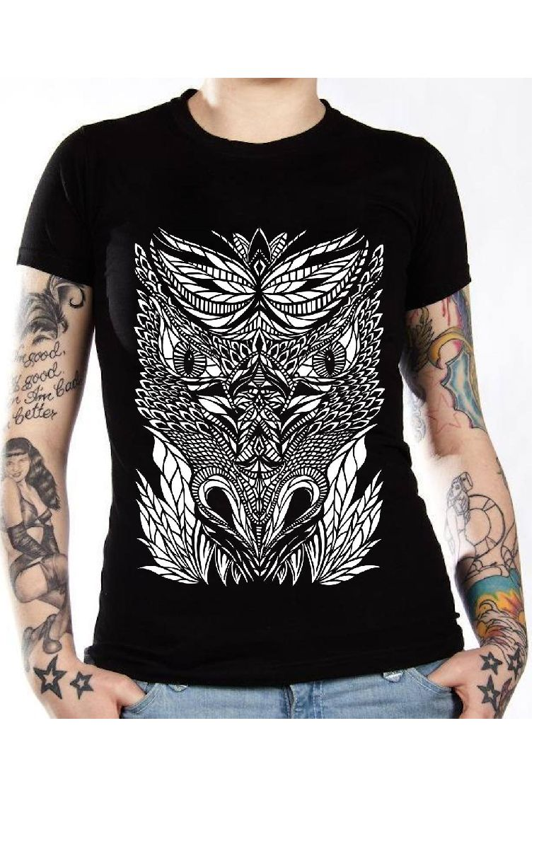 Dragon Face T Shirt