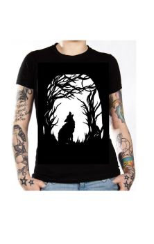 Howl To The Moon T Shirt
