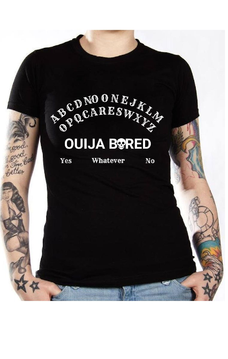 Ouija Bored T Shirt