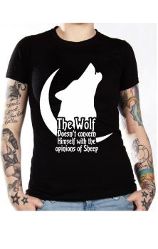 Wolf Doesn't Concern Himself T Shirt