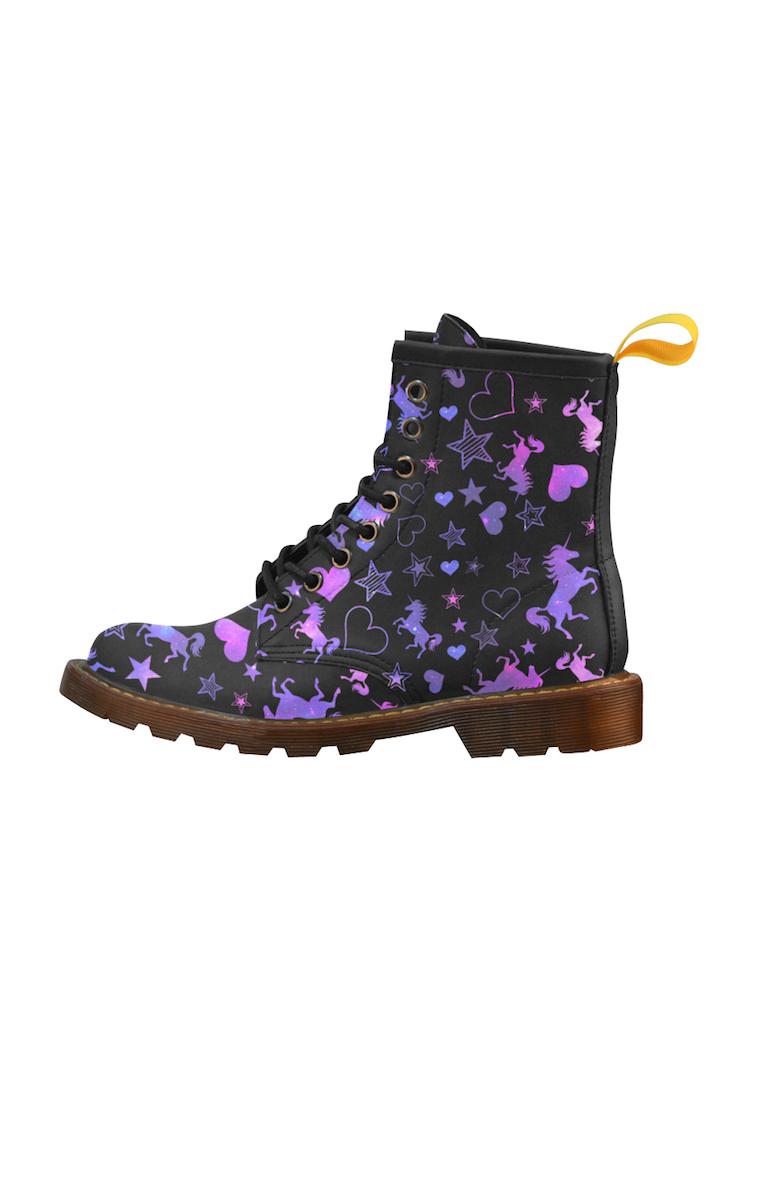 Galaxy Unicorn Boots