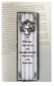 No Imagination Bookmark